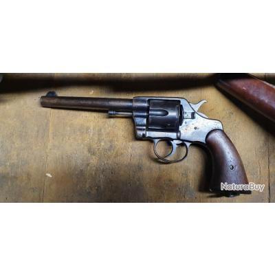 Revolver Colt 38 LC 1895 Militaire US Army 1901 contrat 1903  Modèle tardif .. bon état .