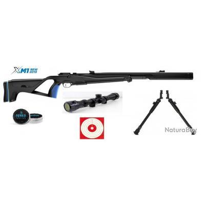 Pack Stoeger XM1 Surpressor Cal. 4.5mm + Lunette 3-9x40 Umarex + 500 Plombs + Bi Pied + Cibles