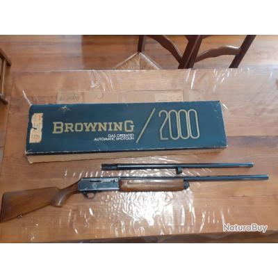 Fusil semi-automatique calibre 12 BROWNING