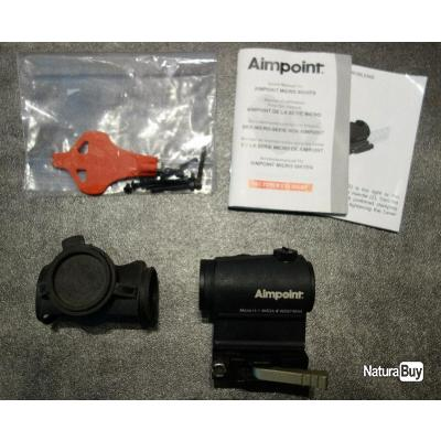 Viseur point rouge Aimpoint Micro H1 4MOA