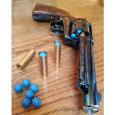 Revolver Colt SAA 5.5'' cal.0.43 CO2 finition bleutée