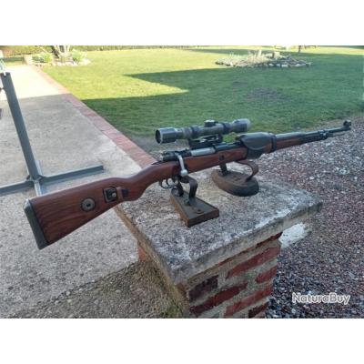 un mauser k98 sniper cal 8x57is d origine