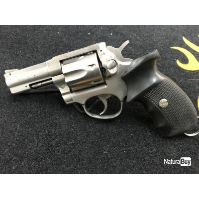 "Revolver MANURHIN MR88 INOX 3"" Cal. 38 special"