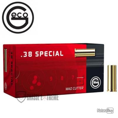 50 MUNITIONS GECO CAL 38 SPECIAL 146GR WC