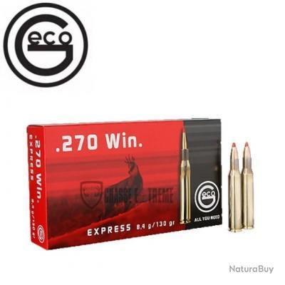 20 MUNITIONS GECO CAL 270 WIN 130 GR EXPRESS