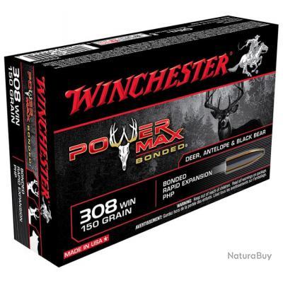 WINCHESTER POWER MAX 308 WIN 180 GRAINS