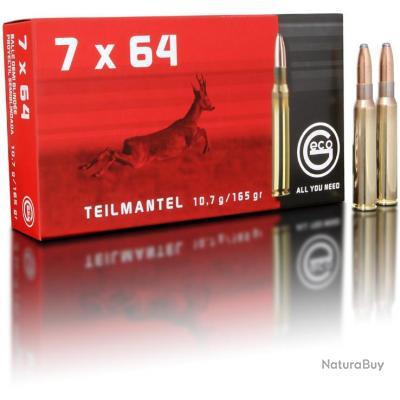 GECO TEILMANTEL 7X64 165 GRAINS