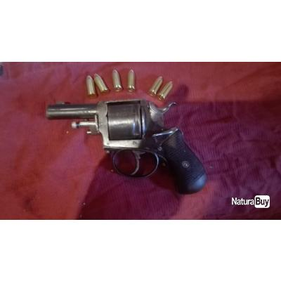 Beau revolver 380 apte au tir