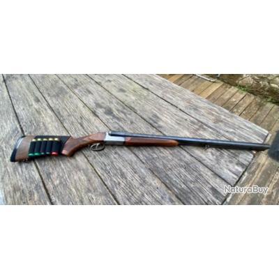 Fusil juxtaposé artisan Italien Slug 12 Magnum (12/76)