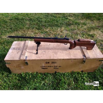 FUSIL SWISS ARMS SHR 970 MATCH AVEC BIPIED, CALIBRE 300 WIN MAG