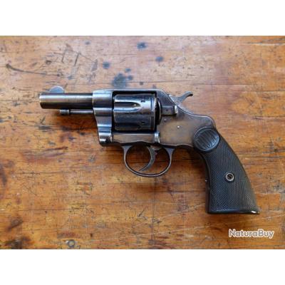 Colt DA 38 canon court