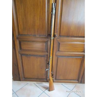 Fusil à aiguille Prussien Dreyse  modèle 1841 .