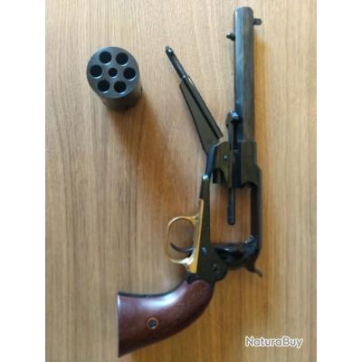 Neuf. Revolver Pietta 1858 New model army. Calibre 36 (375) Moule Lee, balles Hornady et amorces.