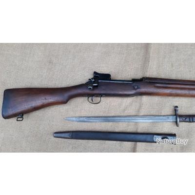 Fusil US model of 1917 ou  US17 et baionnette