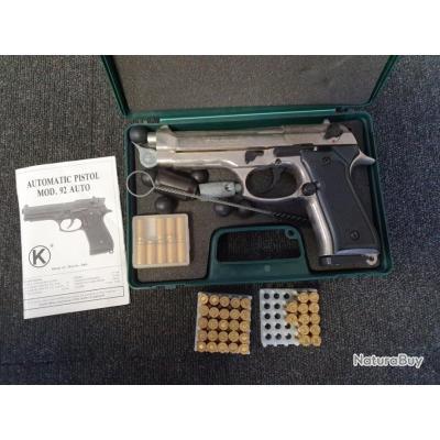 Pistolet alarme Kimar Mod.92 ,cal 9mm ,bon état.