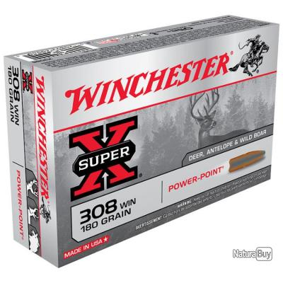 WINCHESTER POWER POINT 308 WIN 180 GRAINS
