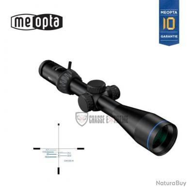 LUNETTE DE TIR MEOPTA OPTIKA 6 3-18X50 RD FFP BDC