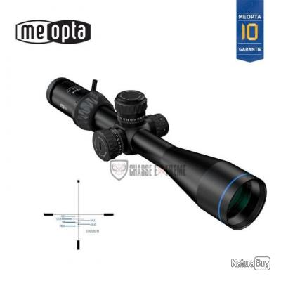 LUNETTE DE TIR MEOPTA OPTIKA 6 4,5-27X50 RD FFP BDC