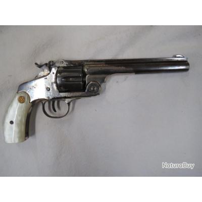 Revolver Smith et Sesson russian calibre 44 Russian