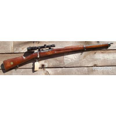 6.5x55 Carl Gustav (Mauser M.1896) Carabine, Lunette Bushnel 1.5 - 4.5 pas Winchester  Marlin Savage
