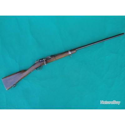 Fusil Chassepot modifié chasse en cal. 24 cat. D.