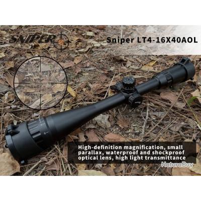 SNIPER LT 3-9X40 AOL- lunette de chasse, ,LIVRAISON GRATUITE !!!