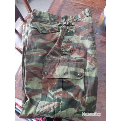 Vends pantalon camouflé tap para armée française Algérie mod 47 56
