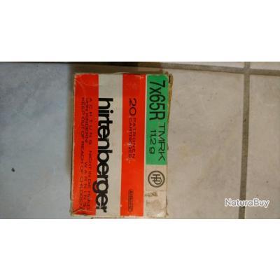 Balles Hirtenberger 7X65R 11.2g TMRK