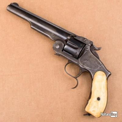 SMITH & WESSON MLE 3 RUSSIAN .44 CAL - 1 euro sans reserve
