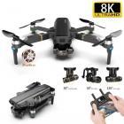Drone 8K Ultra HD + 3 Batteries + Stockage 32 Go - Grande autonomie - LIVRAISON GRATUITE