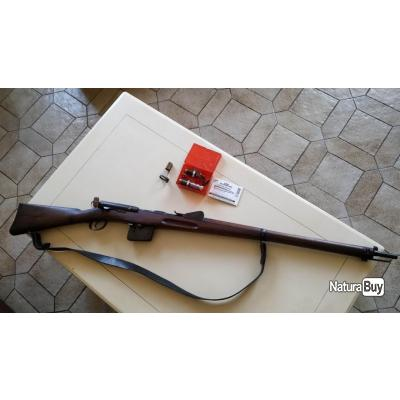 schmit rubin 1889 calibre d origine 7.5x53.5 en calibre d origine tout au même n