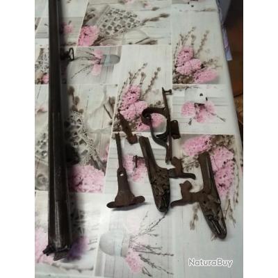 fusils  vend pièces ancienne marques st Etienne