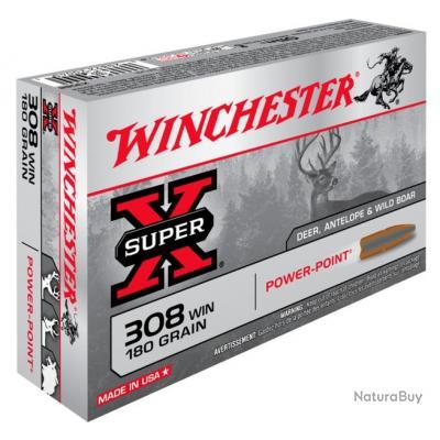 WINCHESTER 308 180grains Power-Point