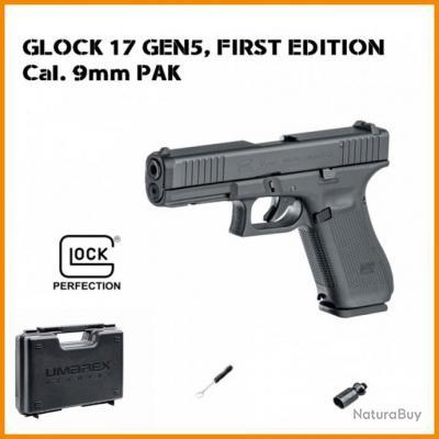 Pistolet GLOCK 17 Gen5 First Edition UMAREX cal.9mm P.A.K