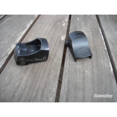 DOCTER 3 avec montage EAW à levier pour rail de 11 mm point rouge de 3.5 MOA