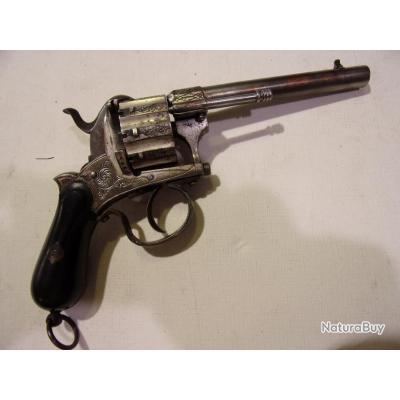 Revolver LEFAUCHEUX 7mm 10 coups