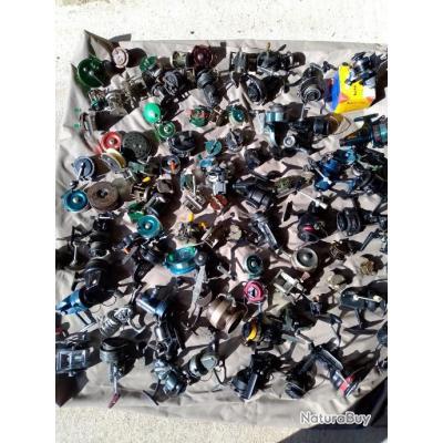 100 moulinets de collection.