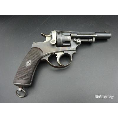 Bon revolver 1874 civil manufacture d'armes de Saint Etienne