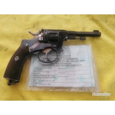Revolver Husqvarna 1887 cal 7.5