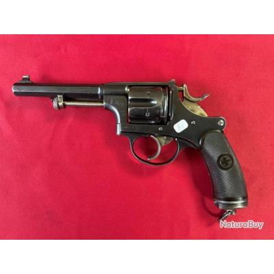 Très beau revolver réglementaire Suisse mod.1882/1 cal.7,5 Suisse (7.5 Nagant) (233)