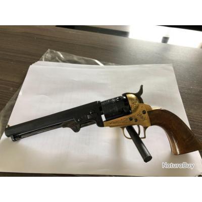 Revolver Poudre Noire Italien Calibre .31