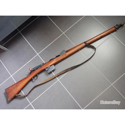 Fusil suisse mdle 1889 Rubin Schmidt avec accessoires : bretelle et couvre canon