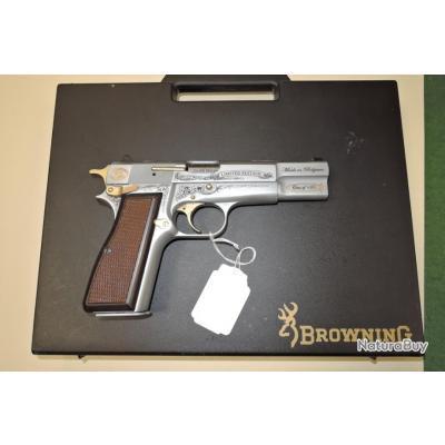 Pistolet BROWNING GP35 série commémorative du 125ème ANNIVERSAIRE de la FN HERSTAL