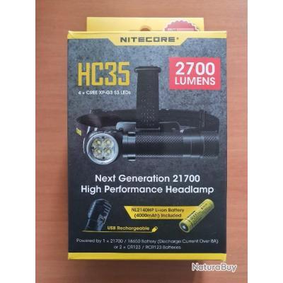 Lampe frontale NITECORE HC35 - 2700 Lumens