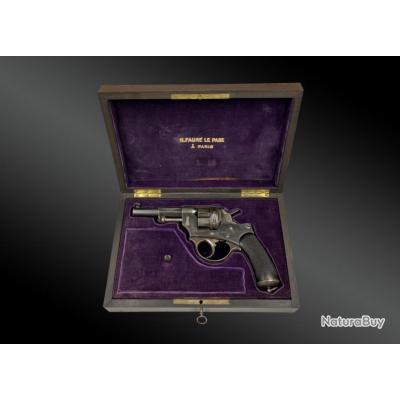 Coffret Revolver De Récompense, Modèle 1874, Par H Faure Le Page