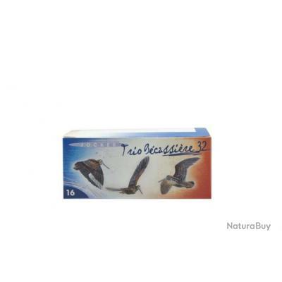Boite de 10 cartouches Jocker Trio Bécassière 32 C/16/67/16 - Bourre jupe - N°8/9/10