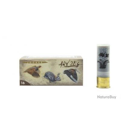 Boite de 10 cartouches Jocker ARX 28 C/16/67/16 - Bourre grasse + ARX