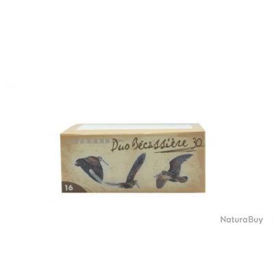 Boite de 10 cartouches Jocker Duo Becassière 30 C/16/67/16 - Bourre jupe - N°8/10