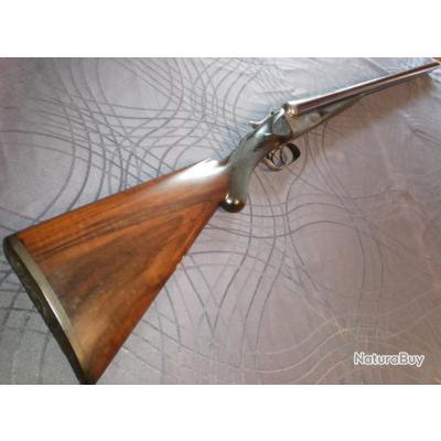 Fusil juxtaposé  artisanal anglais Belmont interchangeable(Bonehill) cal 12