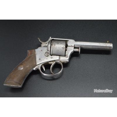 REVOLVER DRESSE LALOUX + LORON + Manufacture Liège calibre 380 vers 1880 - Belgique XIXè Très bon  X